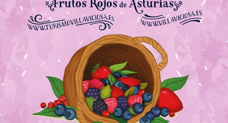 """Festival del Arándano y Frutos Rojos """"Berry Festival"""", Villaviciosa 29 a 31 de julio"""