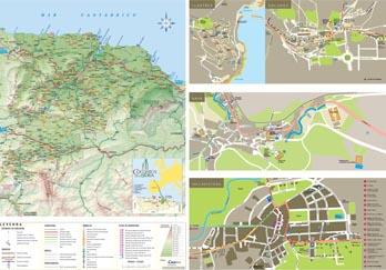 Mapas y callejeros de los municipios de la Comarca de la Sidra