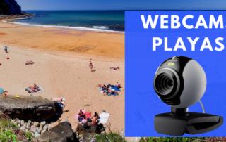 Webcams Palyas de Asturias en Villaviciosa y Colunga